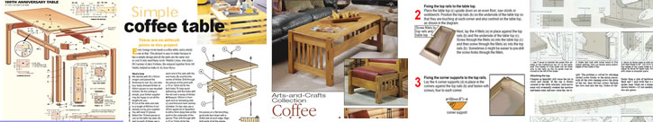 ... Plans, Desk Plans, Picnic Tables, Coffee Table Woodworking Plans and