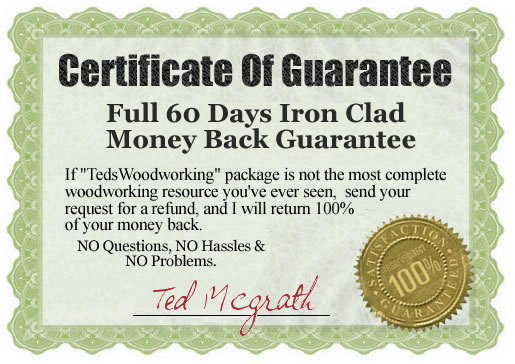 teds woodworking guarantee