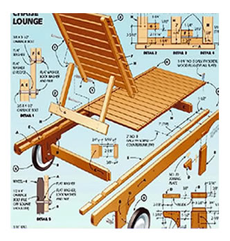 woodworking books furniture plans patterns
