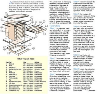 step by step woodwork plans