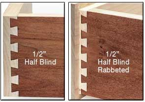 Half-Blind Dovetail Joint
