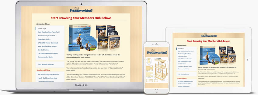 tedswoodworking plans members area