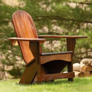 outdoor chair woodworking project