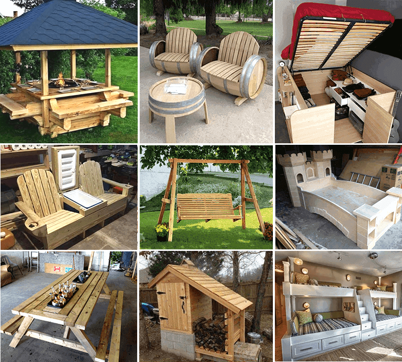Free Woodworking Blueprints Step-By-Step Instant Access